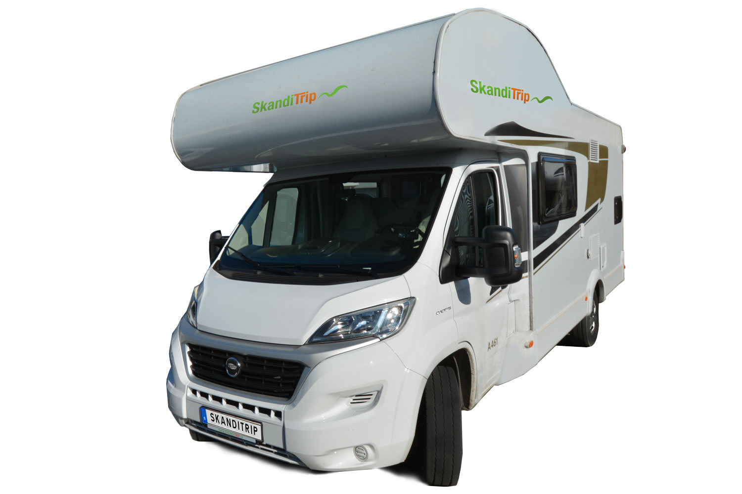 SkandiTrip family plus motorhome model